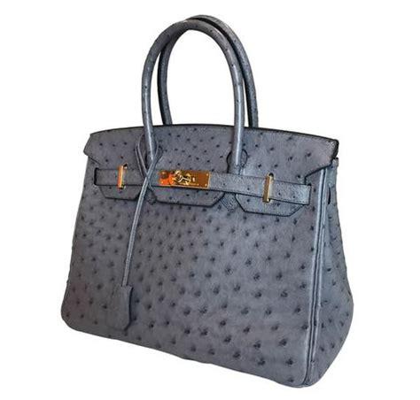 Tas Wanita Hermes Birkin Ostrich Ghw With herm 232 s birkin 30 bag grey ostrich gold hardware baghunter