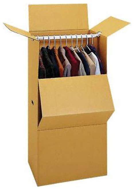 grand wardrobe box 24 quot grand wardrobe w bar moving ahead services
