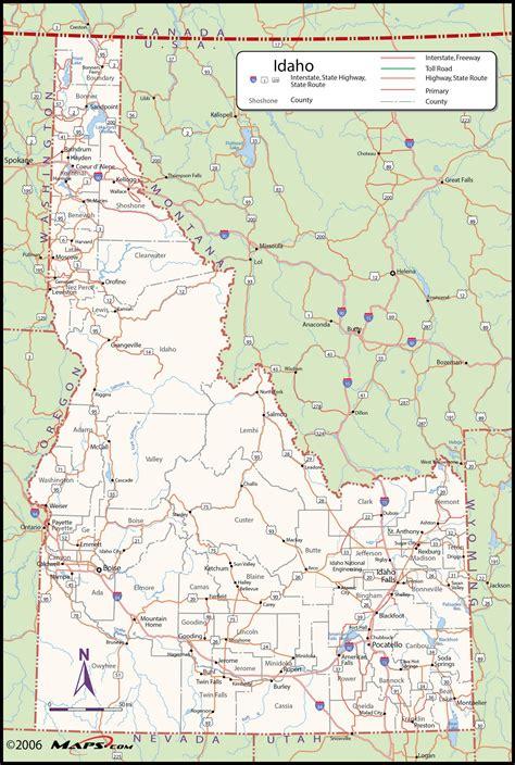 printable map idaho idaho printable map maps of idaho idaho county idaho map