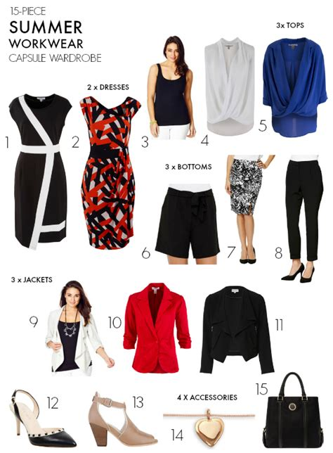 target 2016 summer wardrobe capsule how to create a summer workwear capsule wardrobe styling you