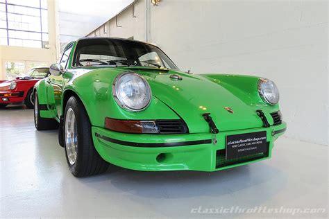 porsche 911 viper green porsche 911 rsr special viper green classic throttle shop