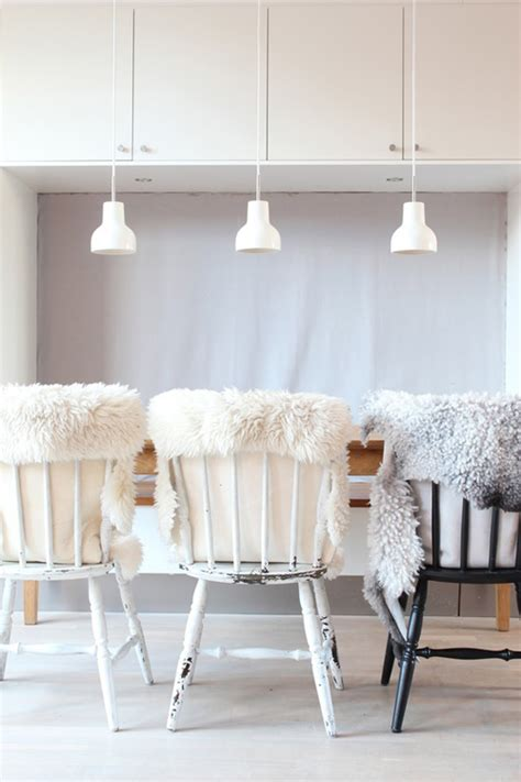 sheepskin rug on chair inspiration sheepskin rugs simply grove