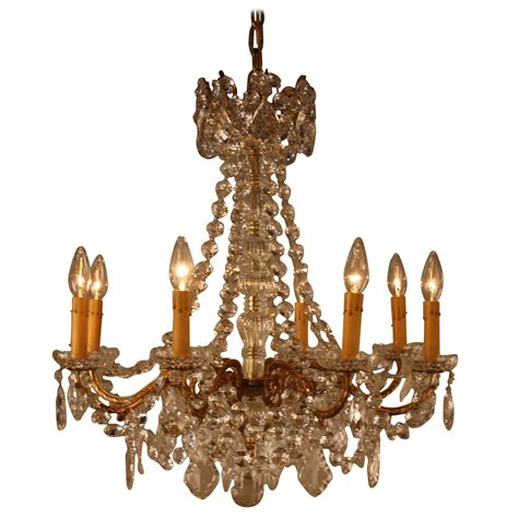 19th Century French Crystal Chandelier At 1stdibs 19th Century Chandelier