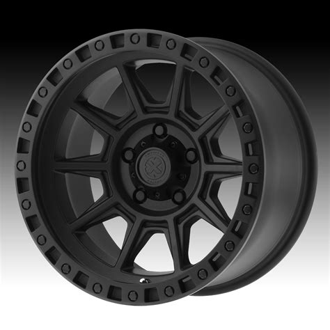 Handmade Wheels - atx series ax202 cast iron black custom wheels rims atx