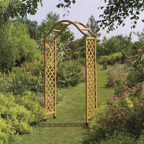 Garden Arch For Sale Nz Gardman 2180mm Elegance Garden Arch Bunnings Warehouse