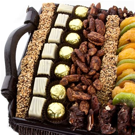 fruit and nut baskets large chocolate dried fruit nut gift basket nuts