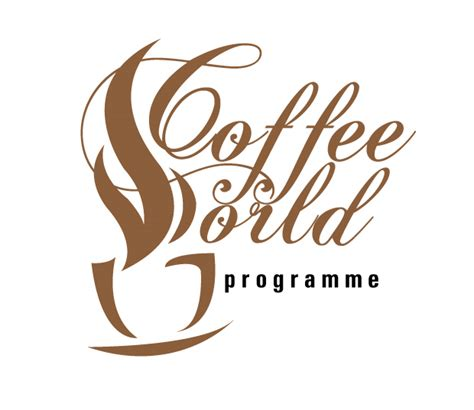 Coffee World coffee world programme logo