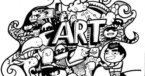 doodle seram mengenal doodle isi bumi