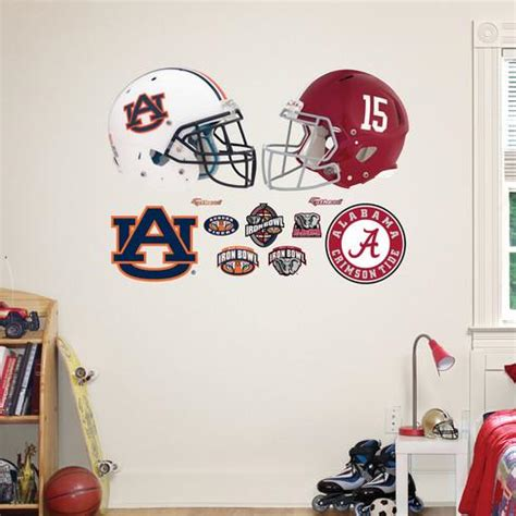 auburn alabama rivalry pack wall decal wall decal at