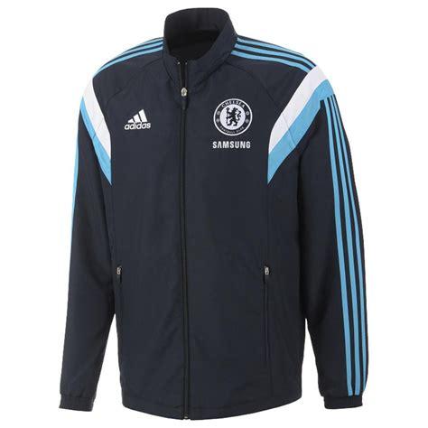 Sweater Half Zipper Chelsea Navy 2014 2015 2014 15 chelsea adidas presentation jacket navy f84083
