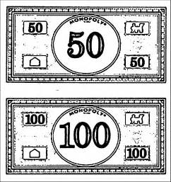 monopoly money colors coloring monopoly coloring pages monopoly