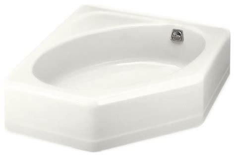 kohler corner bathtub kohler k 824 0 mayflower corner bathtub with right hand