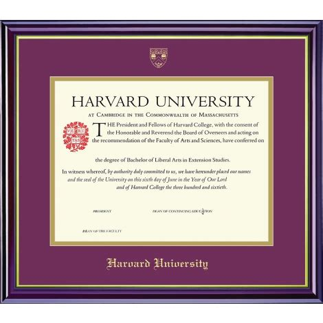 Harvard Mba Mpa Id by Harvard Gifts And Accessories Accessories Diploma