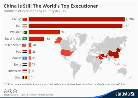 murderbook 2000 2015 total crime new style for 2016 2017 chart china is still the world s top executioner statista