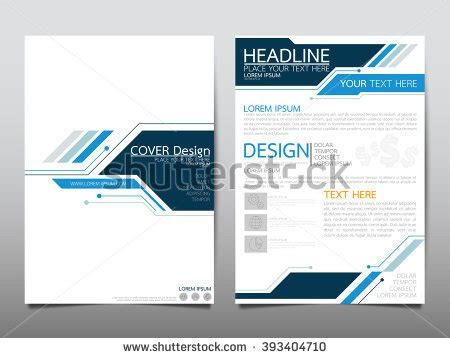layout of a professional report cover page stock images royalty free images vectors