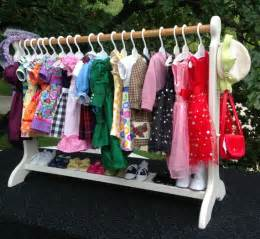 Coat Armoire Closet American Doll 30 White Doll Clothes Rack Clothes