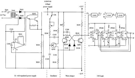 3 phase induction motor speed circuit diagram