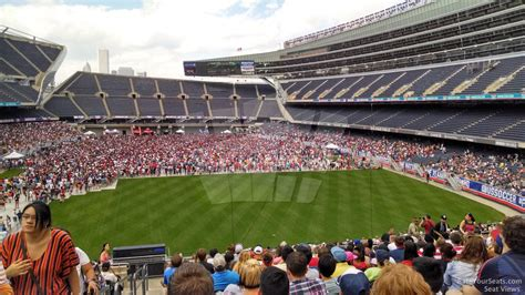 soldier field section 223 concert seating rateyourseats