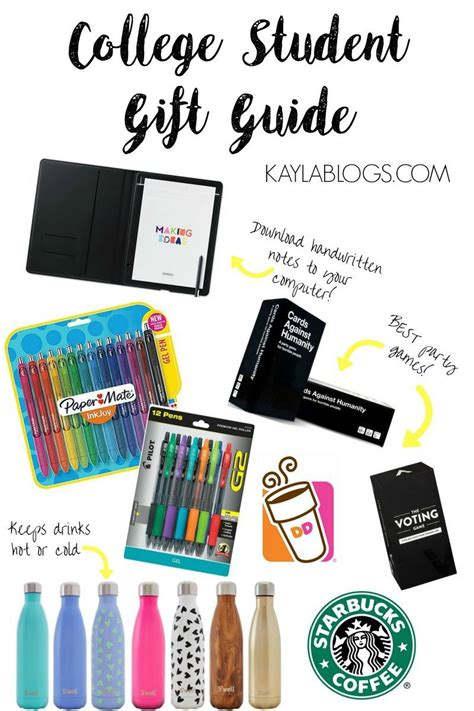 college student gift guide with wacom
