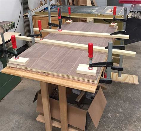 woodworking caul make a plywood countertop popular woodworking magazine