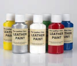 Painting On Faux Leather - leather paint for custom designs and artwork brush sponge or spray ebay