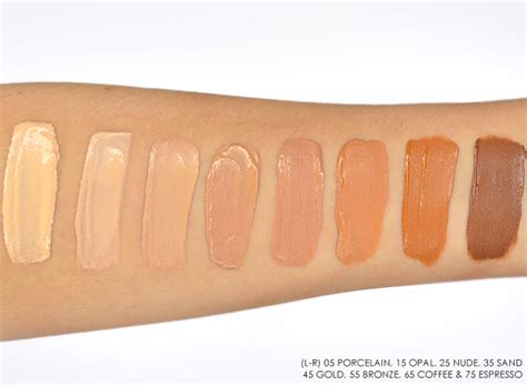 dermablend color chart find your dermablend shade escentual s buzz