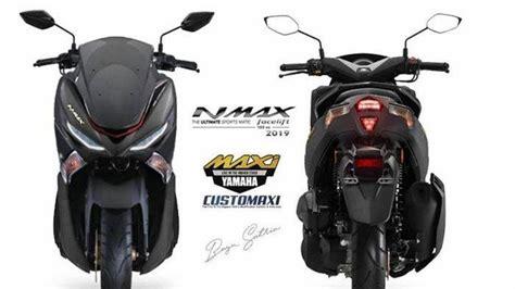 beredar penampakan facelift yamaha nmax versi