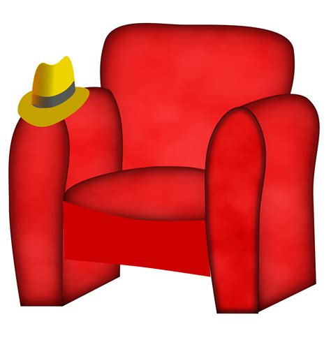 On A Chair by Clipart Hat On A Chair