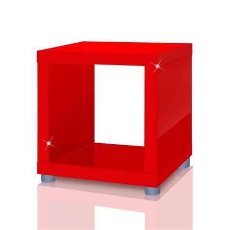 bücherregal wandmontage regalw 252 rfel rot bestseller shop f 252 r m 246 bel und einrichtungen