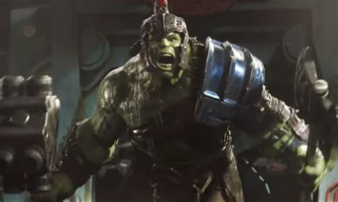 thor ragnarok plot synopsis confirms thor vs hulk battle the hulk has learned to talk in the latest trailer for