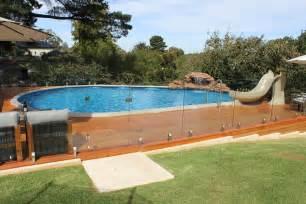 Best Backyard Water Slide Above Ground Lap Pool Decofurnish