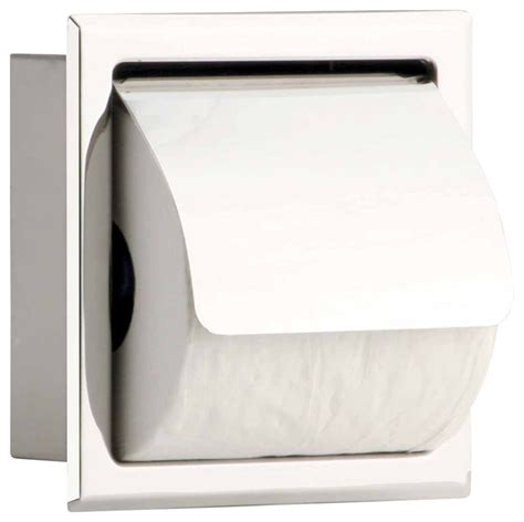 toilet tissue holder stainless recessed toilet tissue holder transitional