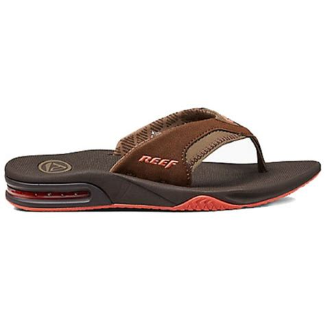 womens reef fanning sandals reef s fanning sandals brown cleanline surf