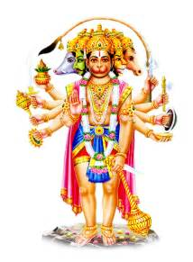 Hindu god panchmukhi hanuman photos images png free download bakthi co