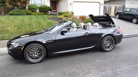 2010 Bmw M6 Convertible by Bmw M6 Convertible Roof Mod