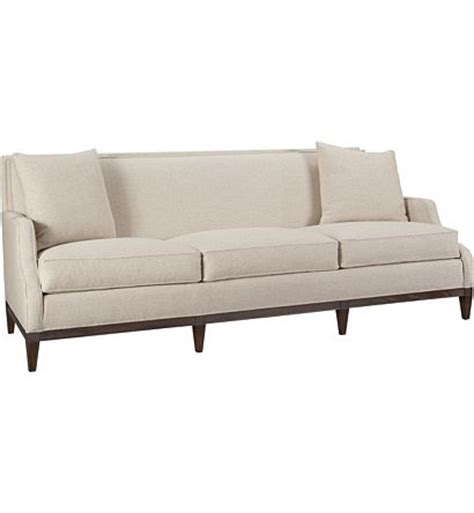 long settee long sofa chair monroe long sofa from the suzanne kasler