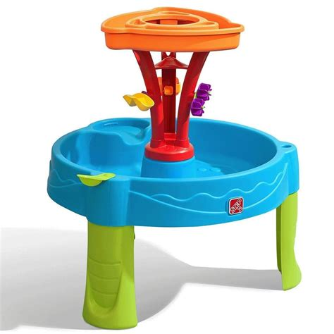Step2 Summer Seaside Showers Splash Play Water Table With