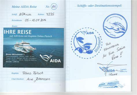 Aida Aufkleber Kaufen by Logbuch Seite 4 Aida Allgemein Aidafans Aida Fans