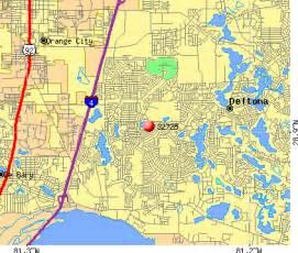 deltona florida map deltona fl zip code map zip code map