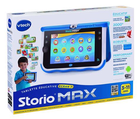 Storio 3 Bleue Tablette Enfant Tablette Enfants Storio Max