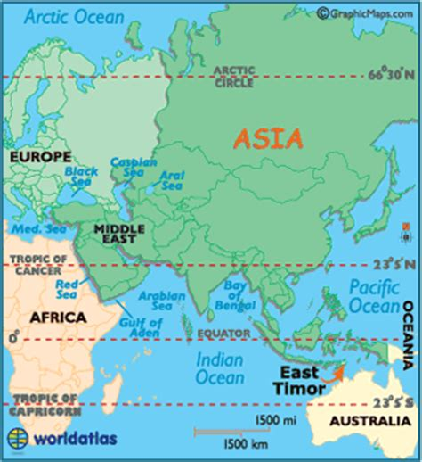 where is east timor on the map east timor map geography of east timor map of east