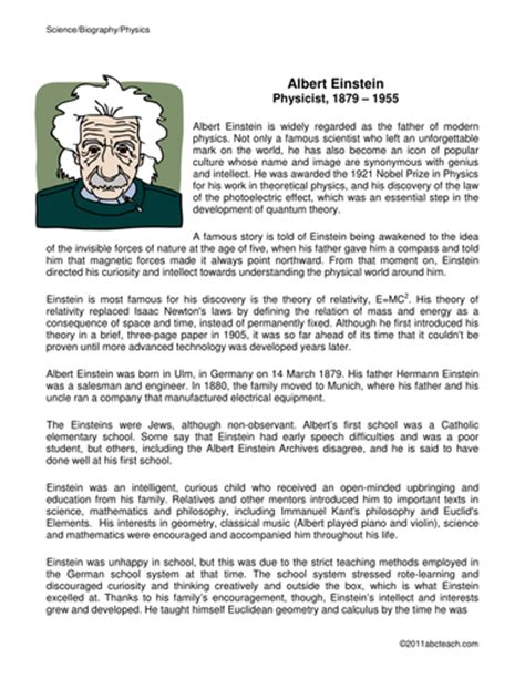 albert einstein biography report biography research report albert einstein biography