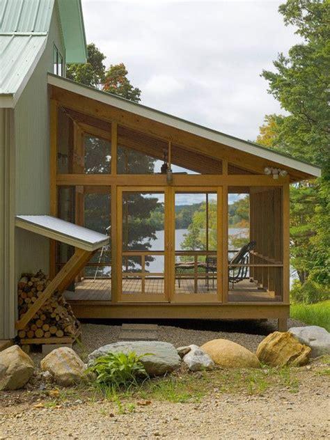 patio couvert patio couvert moustiquaire abri 224 bois maison