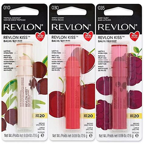 Revlon Hydrating revlon kiss balm ultra hydrating lip care spf 20 bed