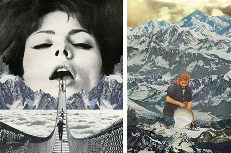 mind blowing contemporary surrealist collage artists