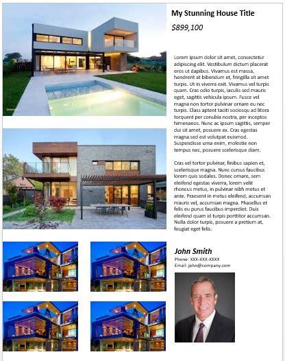 Free Printable Real Estate Flyer Templates