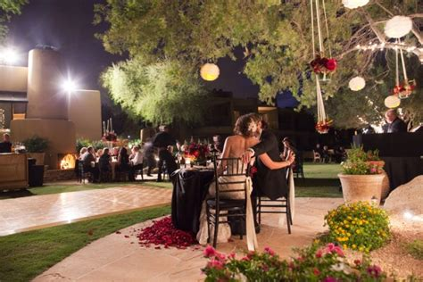 backyard wedding trailer copperwynd resort wedding from melissa jill