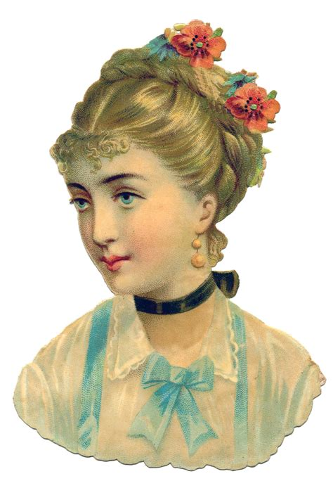 vintage graphic victorian woman the graphics fairy