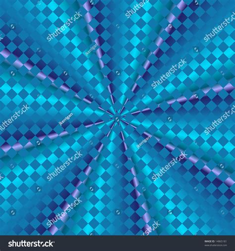 pattern of kaleidoscopic grid abstract fractal kaleidoscope with grid overlay stock