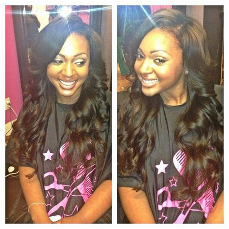 full sew in ponytail no hair out 17 best images about weaves on pinterest left out full
